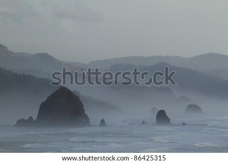 Oregon Coast Haystack Rock