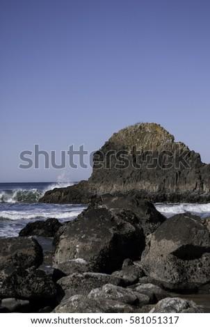 Oregon Coast Rocks #581051317