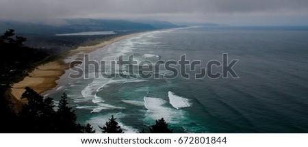 Oregon Coastline #672801844