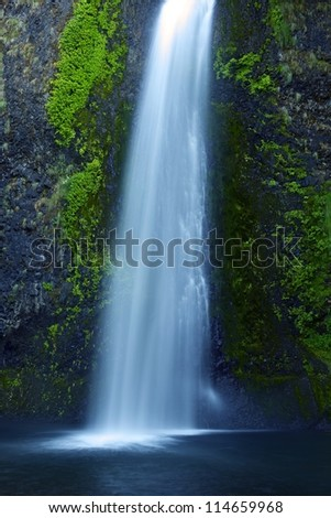 Oregon Waterfall. Waterfalls Photo Collection. Oregon, USA.