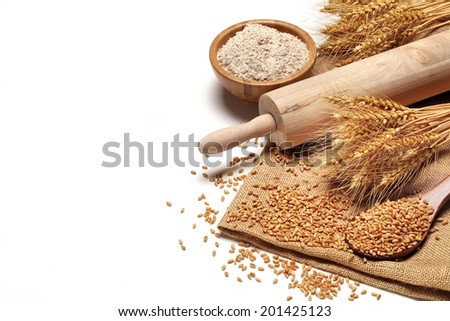 Organic ingredients for bread preparation  #201425123