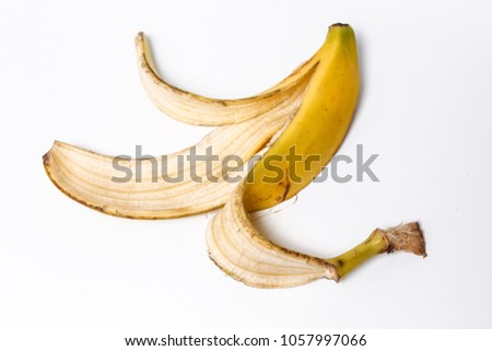 Organic Peeled Banana