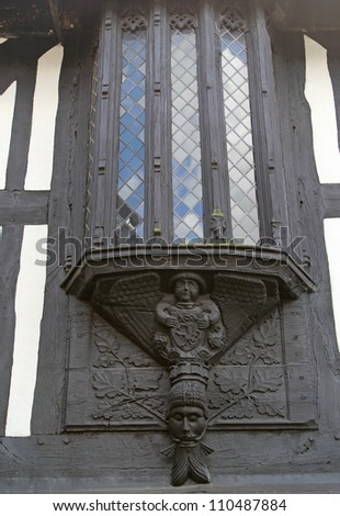 Oriel Window,  Bramall Hall, Bramall, Manchester.