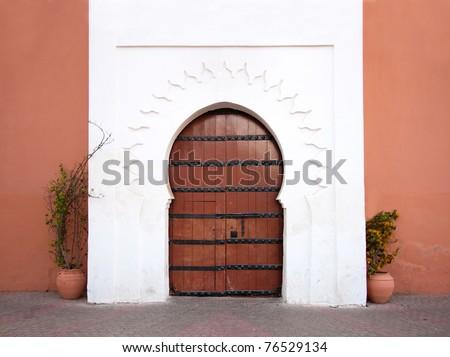 Oriental Arabic door