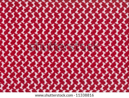 Oriental, bedouin like background. Arab keffiyah pattern. Series - red. More fabrics available in my port.
