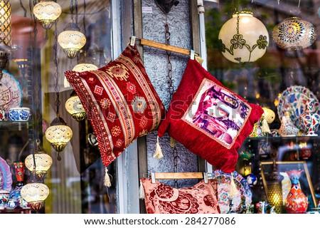 oriental cushions  #284277086