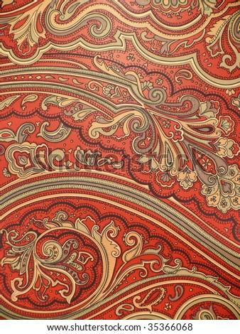 Oriental decor closeup