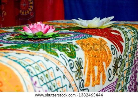 Oriental festival with oriental decorations
