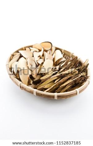 Oriental medicine (Oriental raisin tree, licorice) #1152837185