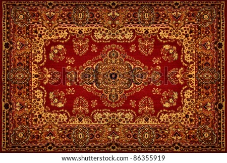 Oriental Persian Carpet Texture
