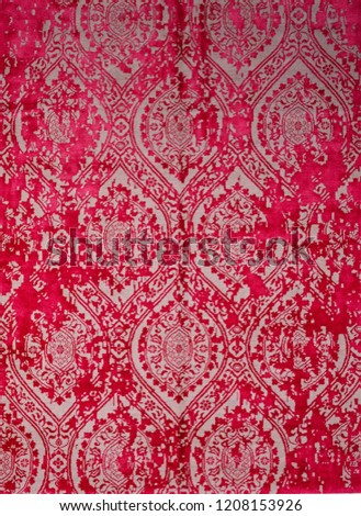 Oriental red turkish-azerbaijan carpet