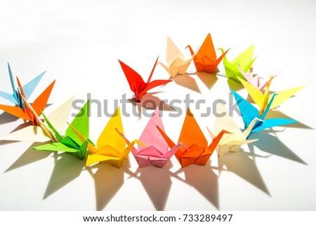Origami. #733289497