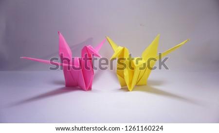 origami bird  origami  object  #1261160224