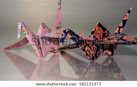 Origami birds #582131473