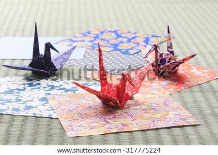 Origami crane #317775224