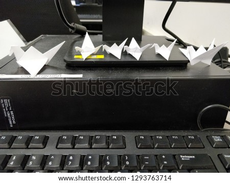 origami crane family #1293763714