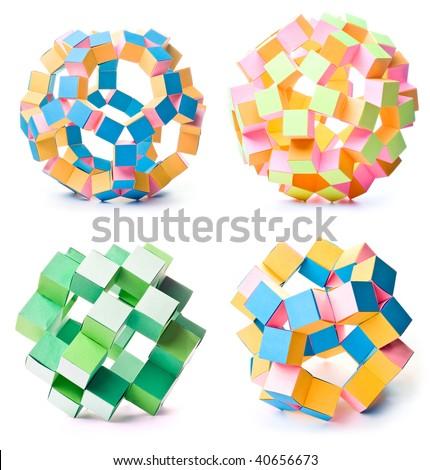 Kusudama - Diamond - Star Pattern | Origami and PaperCraft