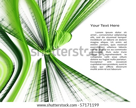 Original fractal background element