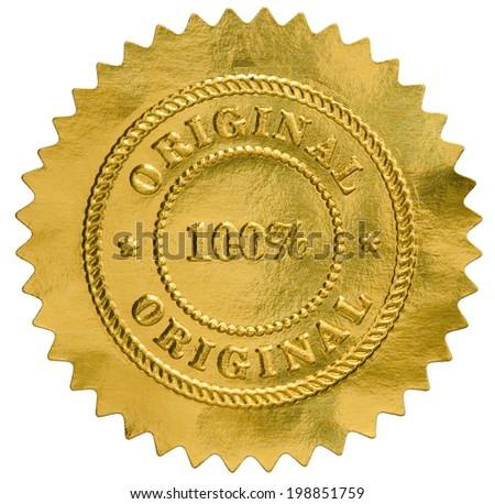 original golden seal