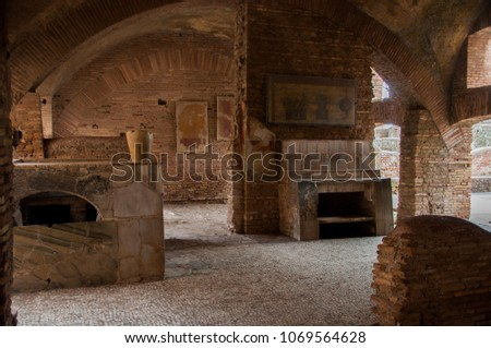 Original Roman tavern