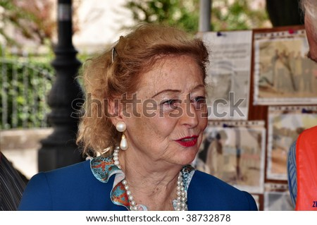 Oriolo Romano - October 11: The Princess Elettra Marconi, Daughter ...