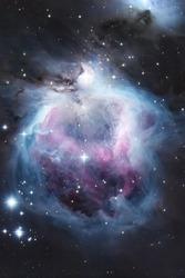 Orion nebula space photography object