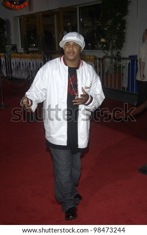 ORLANDO BROWN at the world premiere of The Rundown at Universal Studios Hollywood. Sept 22, 2003  Paul Smith / Featureflash