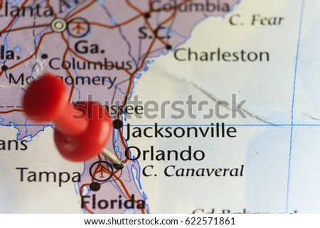 Orlando, Florida, USA. Copy space available.