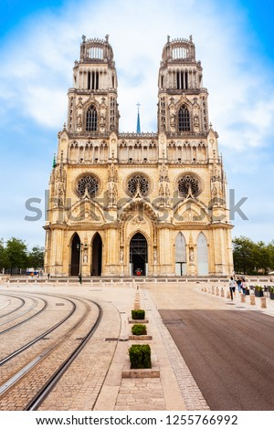 Orleans Cathedral or Basilique Cathedrale Sainte Croix d'Orleans is a Roman Catholic church in Orleans, France