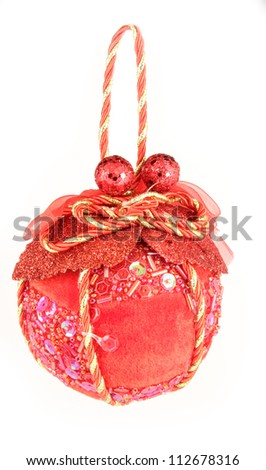 ornament on a Christmas tree