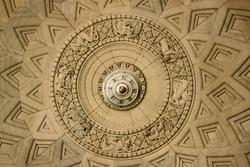 ornate carved ceiling plasterwork