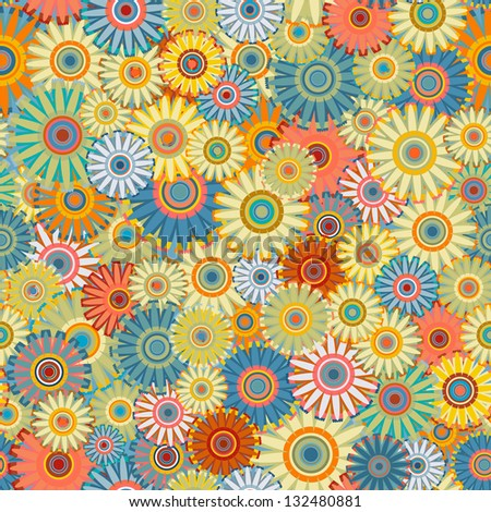 ornate flower pattern (seamless)