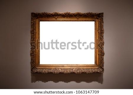 Free photos Empty frames at an art gallery | Avopix.com