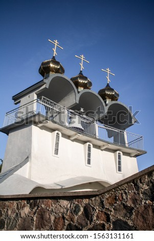 Orthodox church in Jalowka (Podlasie) Zdjęcia stock ©