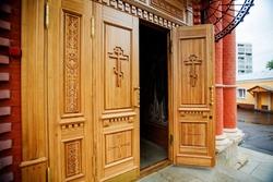 Orthodox church: the door is open