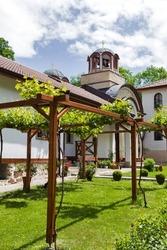 Orthodox Divotino Monastery dedicated to Holy Trinity at Lyulin Mountain, Sofia City Region, Bulgaria