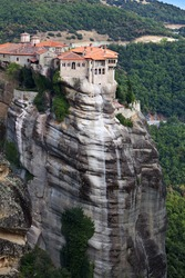 Orthodox, monastery at Meteora near Kalambaka in Greece