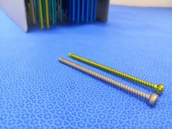 Orthopedic Surgical Screws, Using For Fix Implants