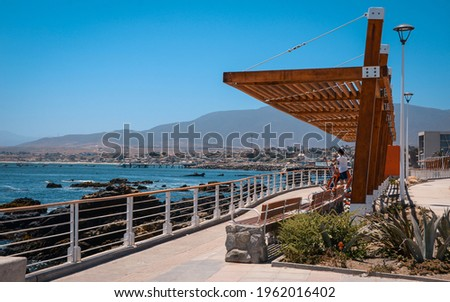 os Vilos is a Chilean city and commune, the southernmost in the Coquimbo region. Located in the province of Choapa Photo stock ©