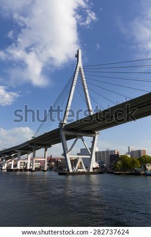 Osaka Tempozan Bridge #282737624