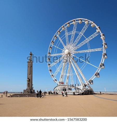 Ostend beach in Belgium, Europe #1567583200