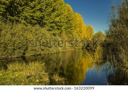 OtoÃ?±o rio TiÃ?©tar  Zdjęcia stock ©