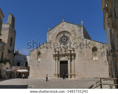 Otranto St.Mary Cathedral. Inside Pantaleone monk built the mosaic that presents a majestic Tree of Life.