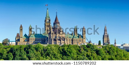Ottawa Parliament Hill #1150789202
