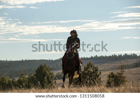 Ottoman and Seljuk military background, horse-riding sports #1311508058