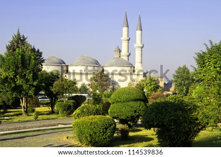 Ottoman Mosque in Edirne, Turkey, Edirne is the first capital of Ottoman Empire