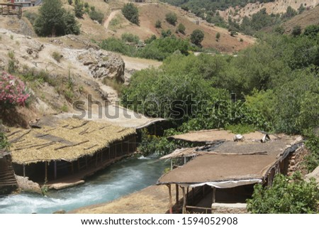 Oum Errabia ( Oum Er-Rbia ) is a large, long and high-throughput river in central Morocco.