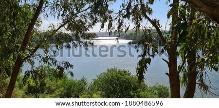 Oum rabie river near AZEMMOUR  Stock photo ©