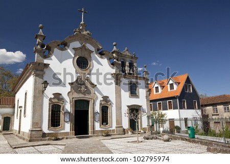 Our Lady of Conception church (Igreja de Nossa Senhora da Concei�§�£o da Ribeira)  in Viseu, Portugal.