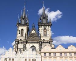 Our Lady of Tyn Church in Prague, Czech Republic